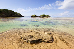 Hoshisuna-no-hama Beach, Iriomote, Japan Stock Photography