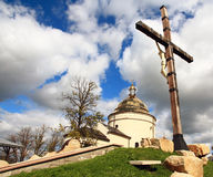 Hoshivskyy monastery in Transcarpathia. Royalty Free Stock Photos