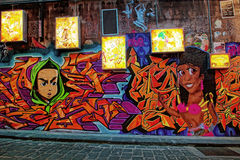 Hosier Lane stock images