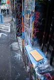 Hosier Lane - Melbourne fotos de archivo