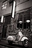 Hosier Lane in Melbourne Royalty Free Stock Images