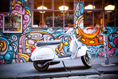 Hosier Lane in Melbourne Stock Photo