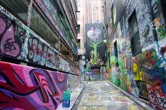 Hosier pas ruchu - Melbourne Zdjęcie Royalty Free