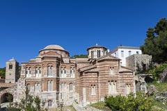Hosios Loukas. Monastery in Greece Stock Photos
