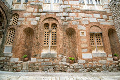 Hosios Loukas. DISTOMO, GREECE - OCTOBER 30, 2015: Hosios Loukas monastery is one of the most important monuments of Middle Byzantine architecture and an UNESCO Royalty Free Stock Photo
