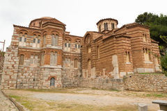 Hosios Loukas. DISTOMO, GREECE - OCTOBER 30, 2015: Hosios Loukas monastery is one of the most important monuments of Middle Byzantine architecture and an UNESCO Royalty Free Stock Photography