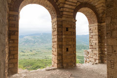 Hosios Loukas. DISTOMO, GREECE - OCTOBER 30, 2015: Hosios Loukas monastery is one of the most important monuments of Middle Byzantine architecture and an UNESCO Stock Image