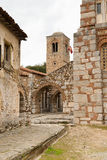 Hosios Loukas. DISTOMO, GREECE - OCTOBER 30, 2015: Hosios Loukas monastery is one of the most important monuments of Middle Byzantine architecture and an UNESCO Stock Images