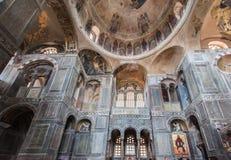 Hosios Loukas kloster Royaltyfria Foton