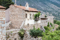 Hosios Loukas Monastery Greece Stock Images