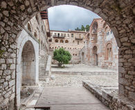 Hosios Loukas Monastery Greece Royalty Free Stock Images