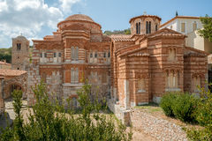Hosios Loukas monastery, Greece Stock Images