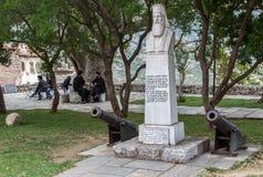 Hosios Loukas Monastery Griekenland stock afbeeldingen