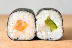 Hosomaki sushi Royalty Free Stock Photography
