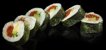 Hosomaki Sushi with Tuna. And Avocado Stock Photo