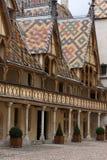 Hospícios em Beaune Imagens de Stock Royalty Free