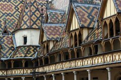 Hospice Beaune. Old medieval hospital Royalty Free Stock Photos