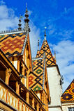 Hospice at Beaune royalty free stock images