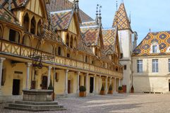 Hospice Beaune, France Royalty Free Stock Images