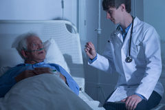 Hospice care ward stock photography