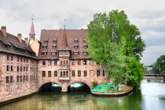 Hospice of the Holy Spirit in Nuremberg Royalty Free Stock Photography