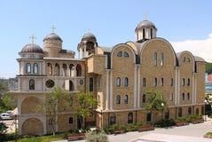 Hospice of Saint John the Baptist. Facade Hospice of St. John the Baptist in Sochi royalty free stock photos