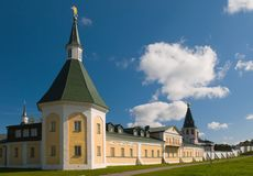 A hospice (zimogorskaya) tower of the XVIII century Royalty Free Stock Photo
