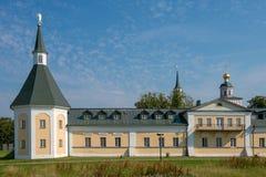 Hospice (zimogorskaya) tower XVIII. The Valdai Iver Svyatoozersky Virgin Monastery Royalty Free Stock Photos