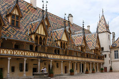 Hospices à Beaune Photographie stock