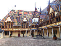 Hospices of Beaune, France Royalty Free Stock Image