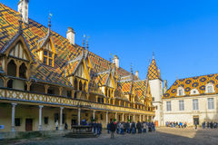 The Hospices of Beaune Royalty Free Stock Photo