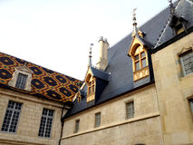 Hospices of Beaune, France Royalty Free Stock Images