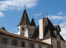 Hospices de Beaune Royalty Free Stock Photography