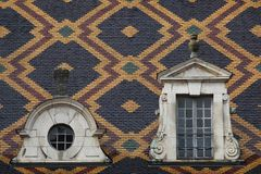 Hospices de Beaune in Burgundy Royalty Free Stock Photo