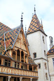 The Hospices de Beaune, France. The Hospices de Beaune in Burgundy Royalty Free Stock Photos