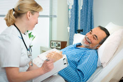 In hospital Stock Photography