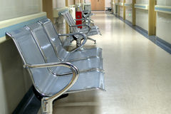 Hospital hallway Royalty Free Stock Image