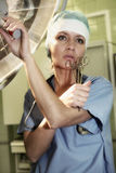 In Hospital. Doctor at the work (part2 Royalty Free Stock Photography