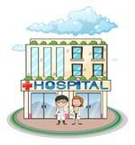 Hospital ilustração do vetor