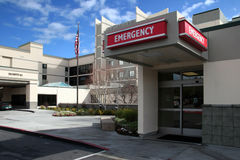 Hospital Foto de archivo libre de regalías