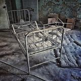 Hospital abandonado Imagenes de archivo