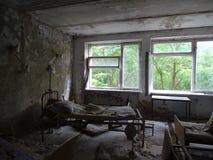 Hospital abandonado Imagen de archivo libre de regalías