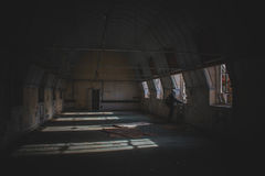 Hospital abandonado desatendido foto de archivo libre de regalías