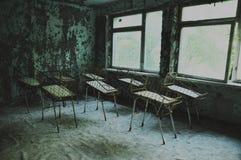 Hospital abandonado en Pripyat Fotos de archivo