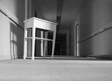 Hospital abandonado interior Imagen de archivo