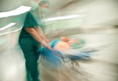 Hospital abstract Stock Images