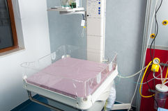 Hospital baby table Stock Photography