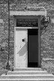 Hospital barrack at Auschwitz Royalty Free Stock Photos