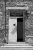 Hospital barrack at Auschwitz royalty free stock photos
