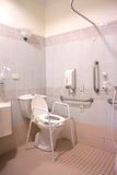 Hospital Bathroom. Interior of a hospital bathroom for maternity patient Stock Images